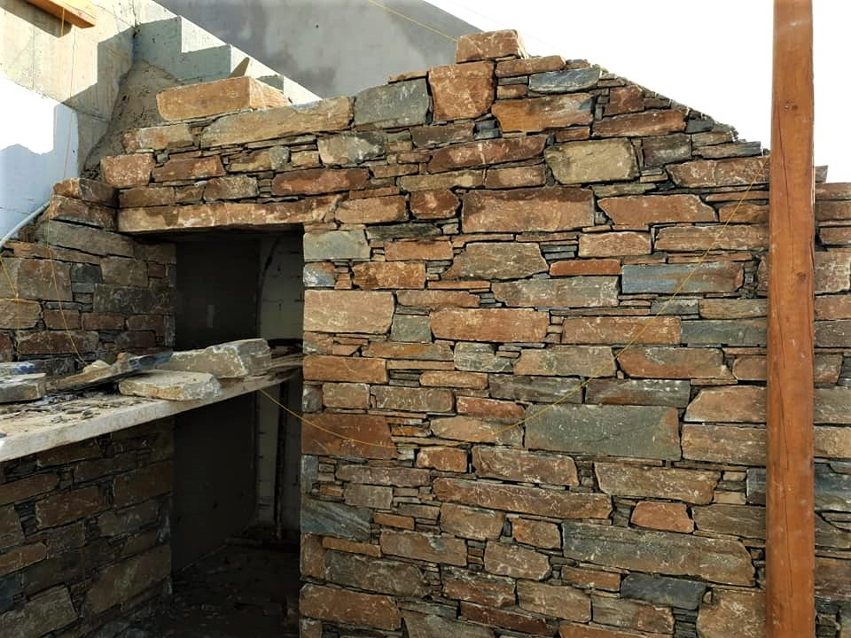 brown gray combo with krystose slates