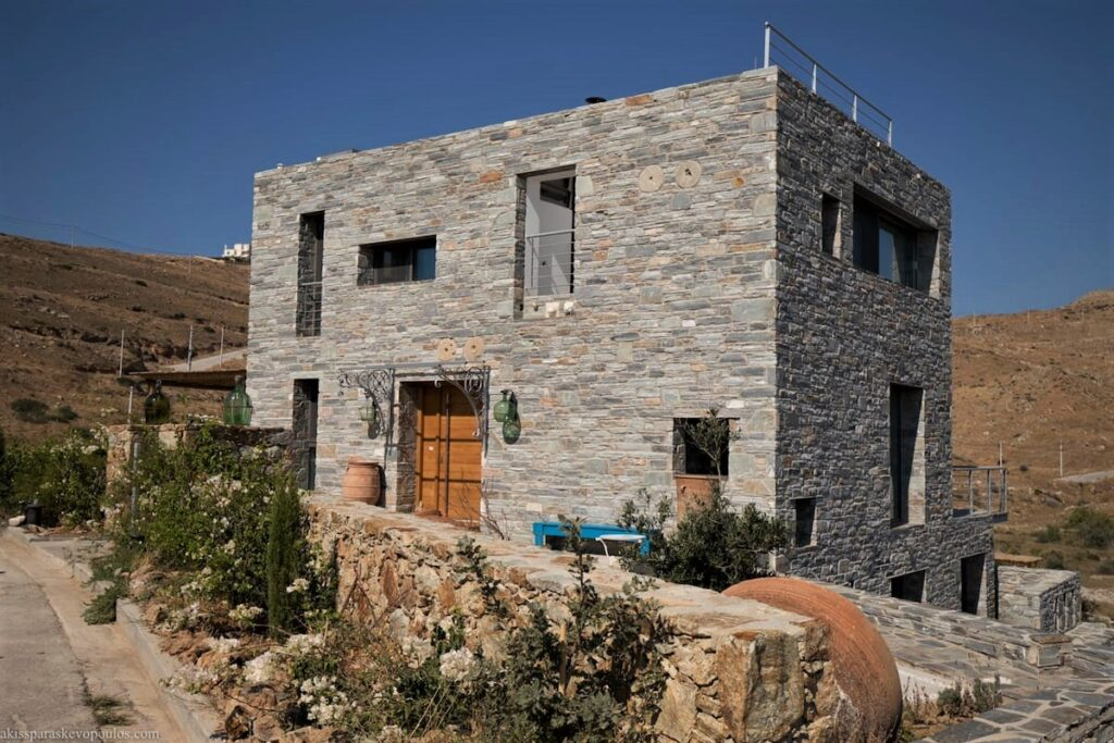exterior decoration with krystose marble