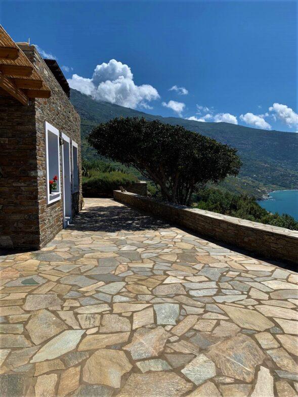 Greek Natural karystian stone 8