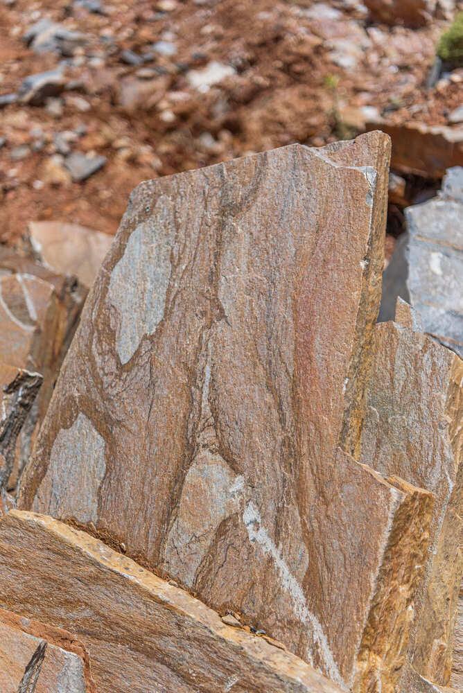 natural karystian slate stones